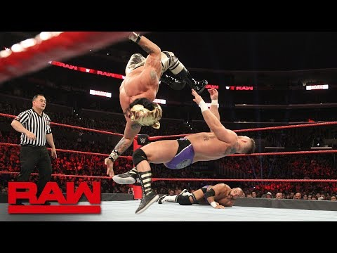 Lucha House Party vs. The Revival - Lucha House Rules Tag Team Match: Raw, Nov. 19, 2018