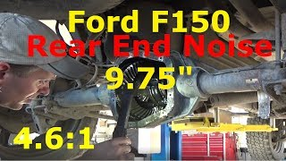 Video Ford F-150 - Rear end Noise 9.75 MP3, 3GP, MP4, WEBM, AVI, FLV Juni 2019