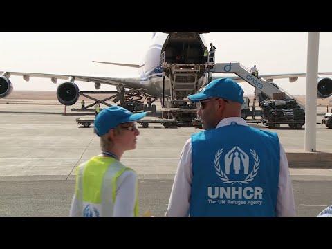 العراق: جسر جوي لنقل المساعدات للنازحين
