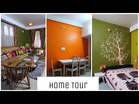 My Colourful Home Tour || Life in a small city || Interior Maata