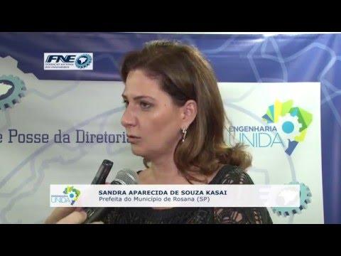 Sandra Aparecida de souza Kasai – Prefeita do Município de Rosana (SP)