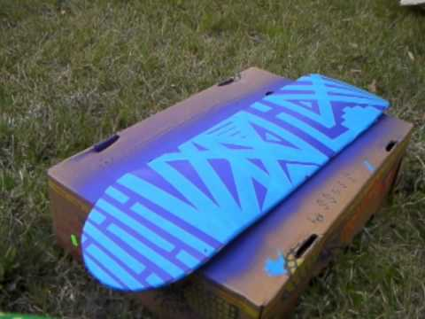 How to Paint Your Skateboard, Longboard, Etc. 2