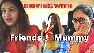 Driving with : Friends Vs Parents | Captain Nick