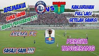 AREMA FC VS PERSITA TANGERANG | MATCHDAY VLOG | #FTVLOG