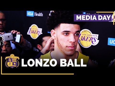 Video: Lakers Media Day: Lonzo Ball (FULL INTERVIEW)