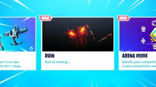 The New RUIN SKIN in Fortnite..