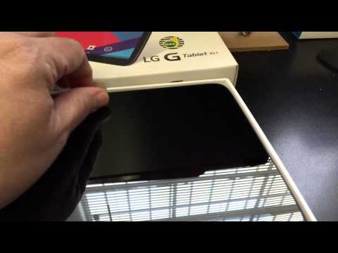 LG V700 G PAD 10.1 Unboxing Video – in Stock at www.welectronics.com