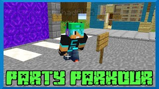 Minecraft Monday EP89 - Party Parkour with Gamer Chad on Happy Hunger Games