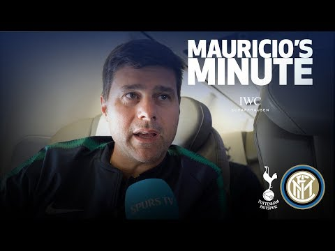 Video: MAURICIO ON CHAMPIONS LEAGUE OPENER AGAINST INTER | MAURICIO'S MINUTE