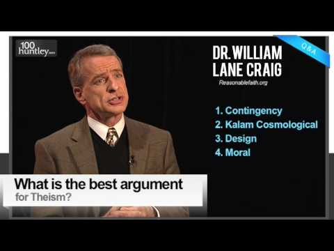 Best Argument for Belief in God?  Dr. William Lane Craig