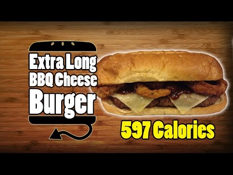 junk food - So I think this is Burger King's answer to the McRib... or their answer to giving up. I guess this thing is basically two Rodeo's on a long piece of bread. That takes some stunning innovation....