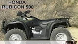 10. ATV Television - 2002 Honda Rubicon Test