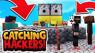 OWNER CATCHING DUPERS ON MY SERVER! *1 BILLION DOLLAR BASE* (Minecraft Catching Hackers)