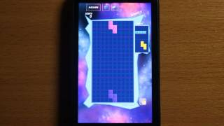 Tetris Space YouTube video
