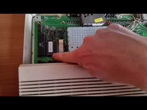 Booting GEOS 128 with GEOS Function ROM on a Commodore 128