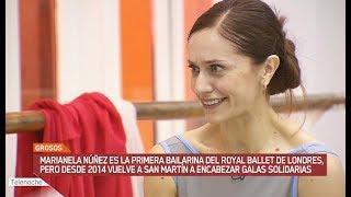 Marianela es primera bailarina del Royal Ballet de Londres pero siempre vuelve a San Martín con un fin solidario