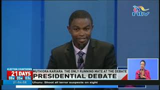 As candidates from the main political parties snubbed the inaugural running mates debate, Kenyans were treated to a rare...