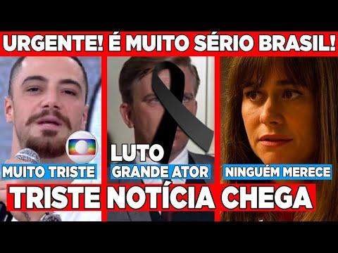 Chega triste comunicado do ator da globo Felipe Titto... Querido ator se vai... Atriz infelizmente..