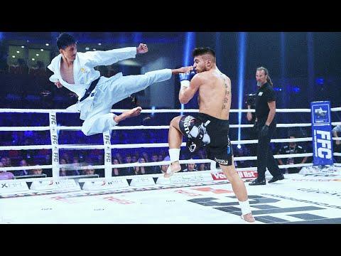 Taekwondo vs Kickboxing | Unbelievable fight