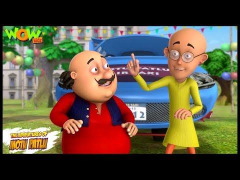 Motu Patlu New Episode | Hindi Cartoons For Kids | Motu Patlu Ki Air Taxi | Wow Kidz