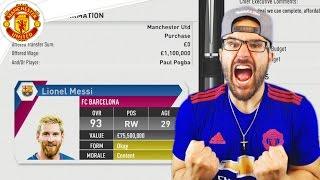 Video OMG MESSI ACCEPTS! *NOT CLICKBAIT* Manchester United FIFA 17 Career Mode #12 MP3, 3GP, MP4, WEBM, AVI, FLV September 2018