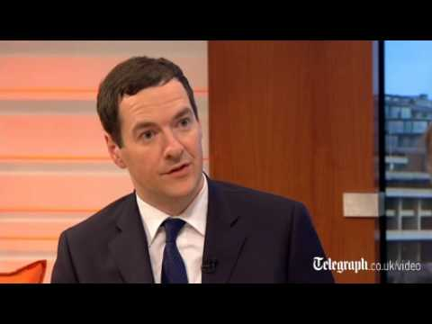 sanctions - Chancellor George Osborne has said that