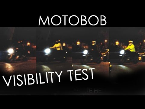 Motorcycle Gear Visibility Test: White/Black/High-Vis Helmets & Jackets