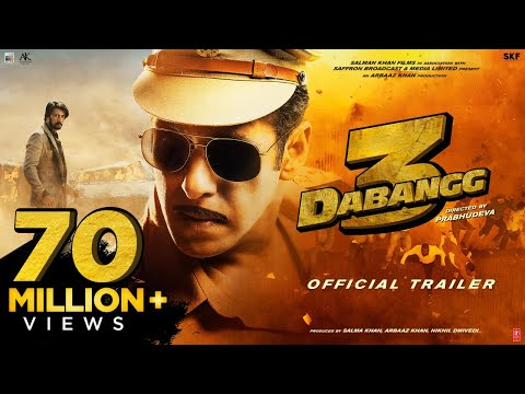 Dabangg 3 Official Trailer  Salman Khan  Sonakshi Sinha Prabhu Deva  20th Dec 19