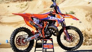 9. Project Vertex KTM 150 SX 2 Stroke - Motocross Action Magazine