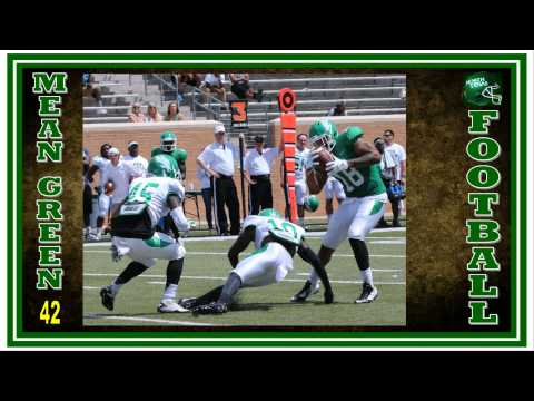 North Texas Mean Green 2015 Football Preview -- Green/White Spring Game