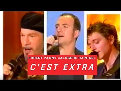 C'EST EXTRA RAPHAEL, PAGNY & CALOGERO / CARAVANE - 22/05/05 (видео)