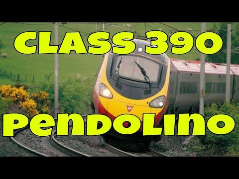 Class 390 - Virgin Pendolino
