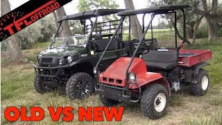 9. Old vs New: 1993 Kawasaki Mule Compared to Today's Mule