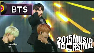 Download Lagu [2015 MBC Music festival] 2015 MBC 가요대제전 - BTS - I Need U + RUN, 방탄소년단 - I Need U + RUN 20151231 Mp3