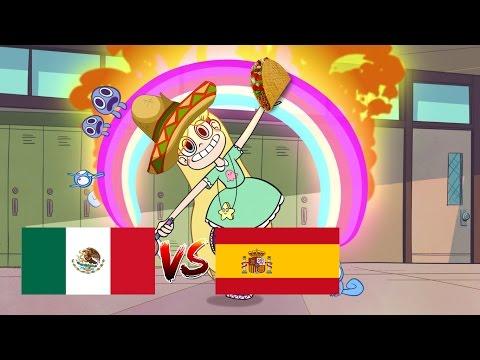Comparación Star vs the forces of evil: Español (castellano) vs Español (latino)[Intro y outro]