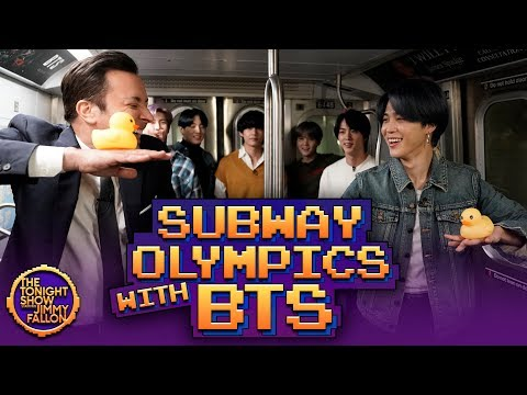 Subway Olympics with BTS