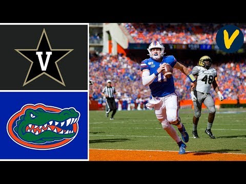 Vanderbilt vs #10 Florida Highlights | Week 11 | College Football 2019