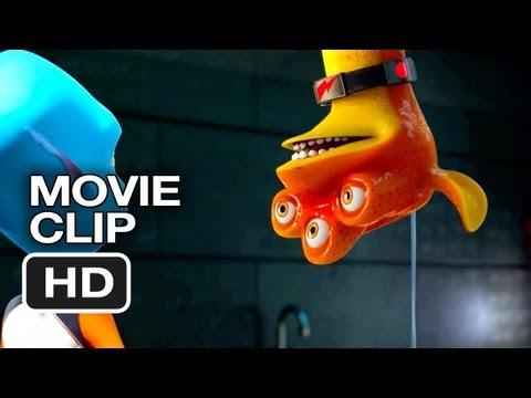 Escape from Planet Earth Movie CLIP - Toilet (2013) Brendan Fraser, Jessica Alba Movie HD