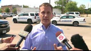 Gov. Greitens thanks police for their work