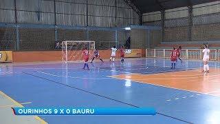 Copa Record: Ourinhos e Santa Cruz vencem de goleada em Bauru