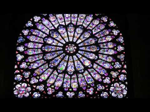 20120423 Paris Notre Dame Stained Glass Windows