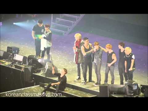 SS5 Super Junior London feat. EXO Kris and Suho – last stage