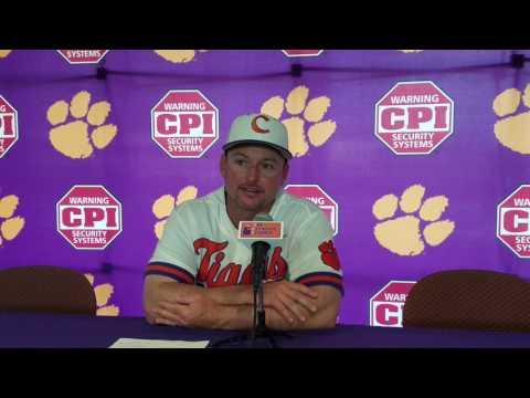 TigerNet.com - Monte Lee post sweep of Virginia Tech