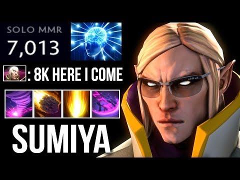 SUMIYA 7K INVOKER BOSS! Epic Combo vs PA Crazy Gameplay Dota 2