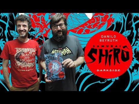 Bate-papo na Ugra | Samurai Shirô, o novo quadrinho de Danilo Beyruth