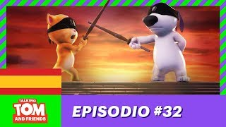 Video El ninja a propulsión - Talking Tom and Friends (Episodio 32 - Temporada 1) MP3, 3GP, MP4, WEBM, AVI, FLV September 2019