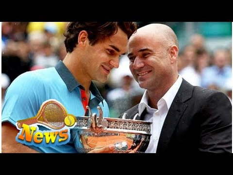 Andre Agassi: 'In the past, Roger Federer was not as good at Pete Sampras'