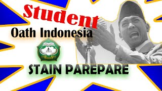 Parepare Indonesia  city images : Sumpah Mahasiswa Indonesia STAIN Pare-pare