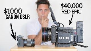 Video $1000 Camera VS  $40,000 Camera   Explained MP3, 3GP, MP4, WEBM, AVI, FLV Juli 2018