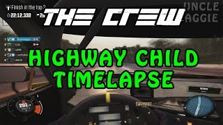 The Crew Highway Child Faction Mission Timelapse